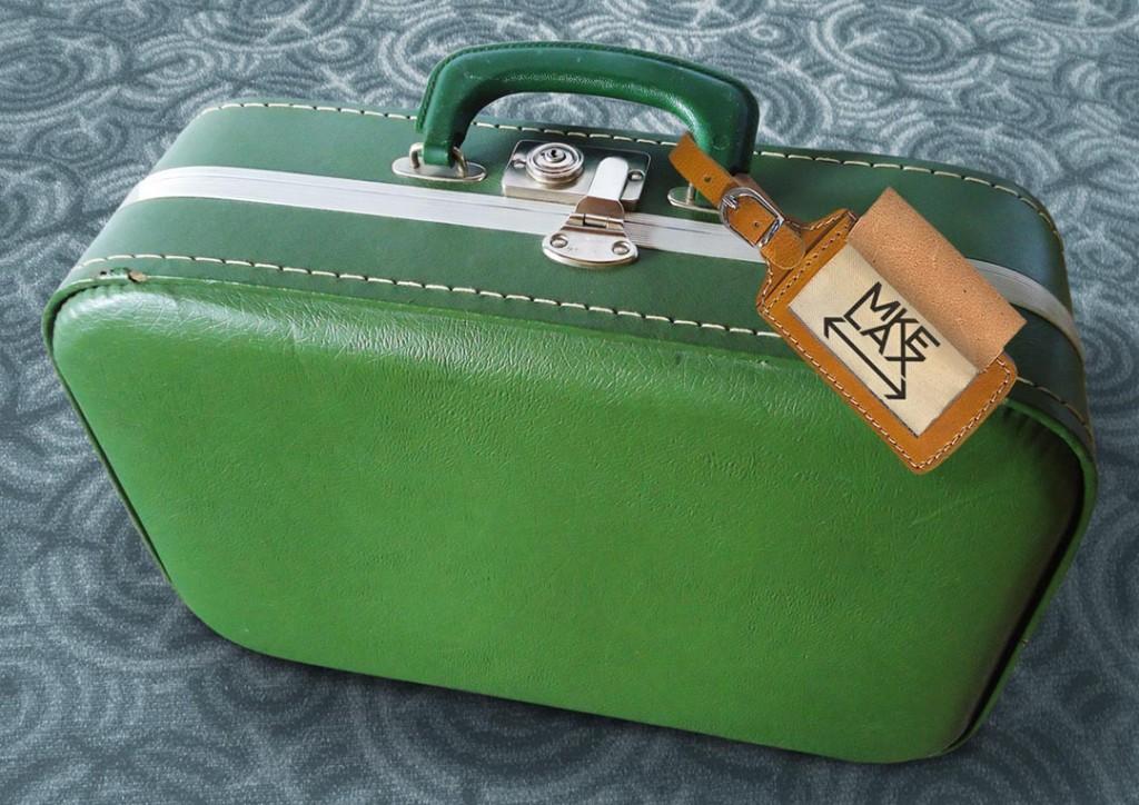 MKE LAX Suitcase
