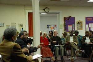 "My Daily Constitution: Constitution Café: ""The Right to Vote and American Constitutional Democracy"" Led by:  Roderick Bohannan Indiana Legal Services, and Amos Brown, Host, WTLC-AM Radio At: Bethel African Methodist Episcopal Church, 414 West Vermont Street, Indianapolis 46202, 317-634-7002"